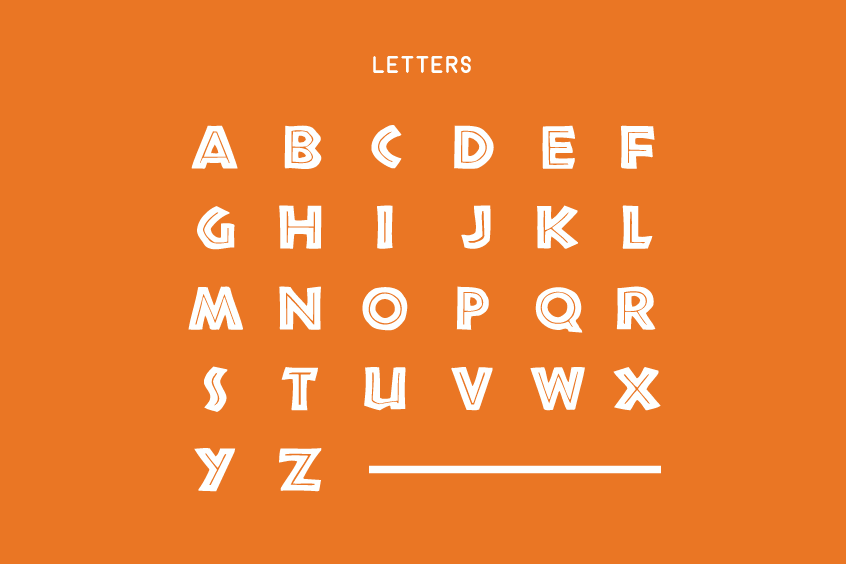 African Font Letters