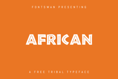 African Font