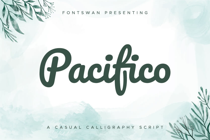 Pacifico Font