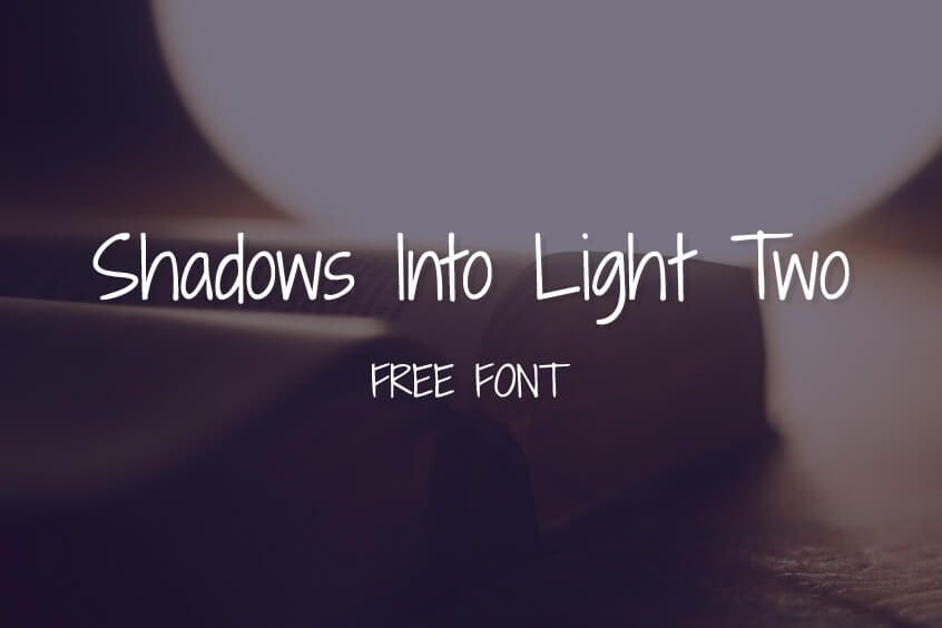 Shadows Into Light Two Font